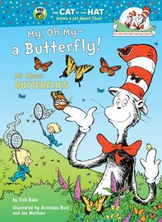 Donation -  Rhyming text explains the nature and habits of butterflies.