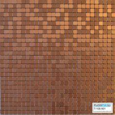 flexipixtile, modern aluminum mosaic tile, peel & stick