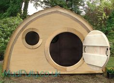 Hobbit Hidey Hole Playhouse by MudPutty on Etsy, £460.00 (for the niece and nephew)