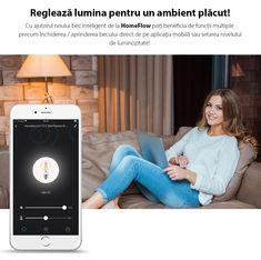 😊Noile becuri inteligente HomeFlow sunt atat de #smart incat pot fi controlate atat de pe aplicatie, cat si vocal prin intermediul lui Google Assistant sau Amazon Alexa!😎 De asemenea, poti monitoriza cu usurinta statusul becurilor Homeflow cu ajutorul aplicatiei. Riding Habit