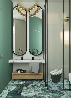 Bathroom in Private House - Галерея 3ddd.ru