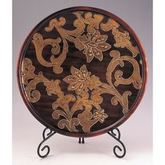 Safari Decorative Plate with Stand