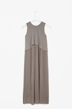 Layered pleat dress - COS
