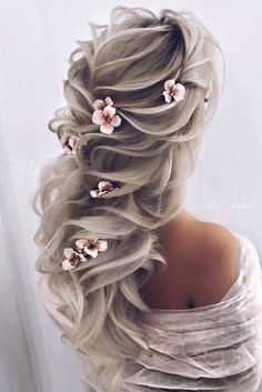 30 Elegant Wedding Hairstyles For Gentle Brides - best hairstyles - Hochzeitsfrisuren-braided wedding updo-Wedding Hairstyles Wedding Hairstyles, Cool Hairstyles, Fashion Hairstyles, Quinceanera Hairstyles, Flower Hairstyles, Elegant Wedding Hair, Hair Wedding, Wedding Makeup, Prom Hair Updo Elegant