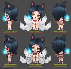 League of Legends: Ahri  http://blog.naver.com/ggu_mi