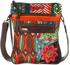 This vibrant bag will add a splash of colour and optimism to your winter wardrobe. Embroidered Bag, Zip Wallet, Women's Accessories, Purses And Bags, Diaper Bag, Satchel, Shoulder Bag, Handbags, Tote Bag