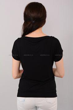 Футболка Г4591 Цена: 280 руб Размеры: 42-48  http://odezhda-m.ru/products/futbolka-g4591  #одежда #женщинам #футболки #одеждамаркет