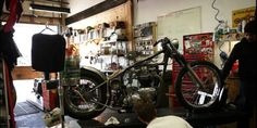 Motomethod Community Motorcycle Repair Shop in Vancouver, BC is a full repair shop, for nearly all makes and models of motorcycles, old or new. Motomethod is the… Garage, Self Service, Motorcycle Design, Repair Shop, Travel Usa, I Shop, Bicycle, Learning, Videos