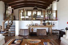 No campo e com muita personalidade....uma casa que nos convida a viver!