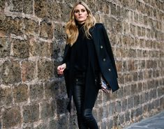Hi guys! Sometimes you just have to break out a NYC sort of uniform in the city of lights, aka, an all black ensemble. Here I'm wearing a Chloe turtleneck blouse with a Reiss blazer, Paige Denim tr...
