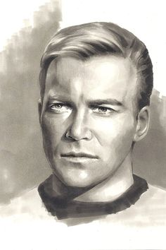 Star Trek - Cpt. Kirk by Lei-Feiyang on DeviantArt - Captain of the USS Enterprise in the original tv series and major films.