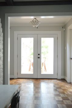 When To DIY vs. When To Hire It Out | Young House Love:  Price of doors - Home Depot & Lowes, installed, etc