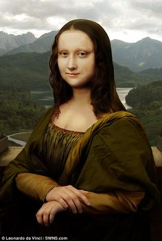 Project shows what Mona Lisa would have looked like if she'd posed for a photograph | Daily Mail Online
