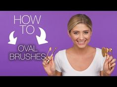 How to use oval brushes - YouTube