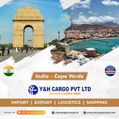 International Moving, Company Banner, Freight Forwarder, Cape Verde, Shipping Company, Tours, India, World, Travel
