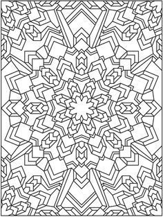 Creative Haven Coloring Books for Adults Unique Mandala 625 Creative Haven Mandala Madness Coloring Book Dover Publications Pattern Coloring Pages, Mandala Coloring Pages, Coloring Book Pages, Printable Coloring Pages, Coloring Sheets, Geometric Coloring Pages, Pintura Zen, Creative Haven Coloring Books, Coloring Pages For Grown Ups