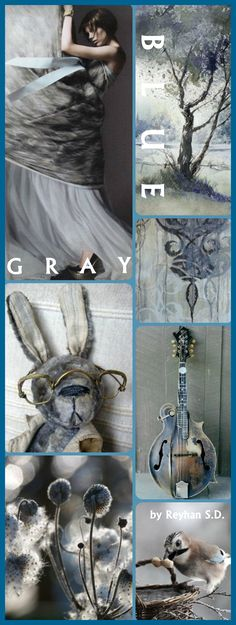 '' Blue & Gray '' by Reyhan S.D.