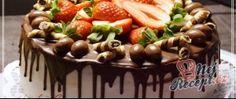 Dortík s mascarpone krémem a ganache polevou Waffles, Cheesecake, Breakfast, Food, Mascarpone, Morning Coffee, Cheese Cakes, Cheesecakes, Meals