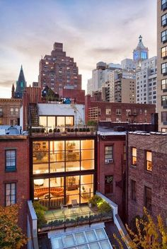 Modern Architecture With Rooftop Gardens