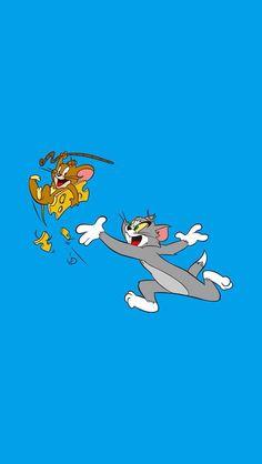 36 Trendy Ideas For Wallpaper Iphone Cartoon Tom And Jerry Iphone Cartoon, Cartoon Wallpaper Iphone, Cute Disney Wallpaper, Cute Cartoon Wallpapers, Aesthetic Iphone Wallpaper, Cute Wallpaper Backgrounds, Colorfull Wallpaper, Tom And Jerry Wallpapers, Tom And Jerry Cartoon