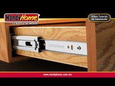 Instalación de corredera de extensión Handy Home para cajón - YouTube