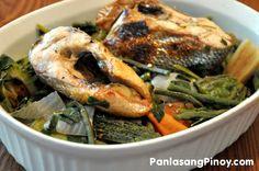 Dinengdeng (Fish & vegetable dish)