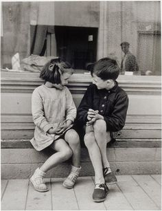 ※ Photography by Brassaï -=- Famous Postcard of Paulette et André, 1949 :: Beautiful Friendships <3