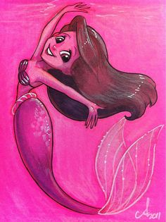 Ariel by Amy Mebberson, via Flickr