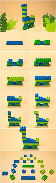 lego ideas to build - build lego ideas . lego ideas to build . lego ideas to build easy . lego ideas to build instructions . lego ideas to build for boys . lego ideas to build houses Dinosaur Activities, Lego Activities, Toddler Activities, Toddler Toys, Baby Toys, Lego Projects, Projects For Kids, Crafts For Kids, Wood Projects
