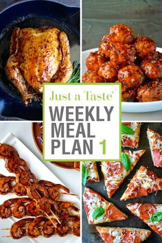 Take the stress out of meal planning with this week's quick and easy dinner recipes, plus a printable shopping list.