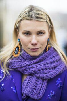Zhanna Romashka at #MFW #hair #makeup