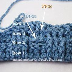 Crochet Basket Weave Afghan - Tutorial