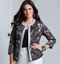 Together Boutique Jacquard Jacket  Product Code: AD858JN  £75.00