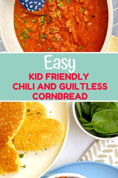 This is a simple chili your kids will eat and it's on the table in just 30 minutes. Great for a comforting weeknight dinner for the whole family Easy Toddler Meals, Easy Meals For Kids, Quick Easy Meals, Kids Meals, Easy Family Dinners, Easy Weeknight Dinners, Family Meals, Best Dinner Recipes, Fall Recipes