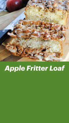Loaf Bread Recipe, Loaf Recipes, Quick Bread Recipes, Apple Recipes, Baking Recipes, Healthy Breakfast Breads, Breakfast Bread Recipes, Homemade Breakfast, Apple Loaf Cake