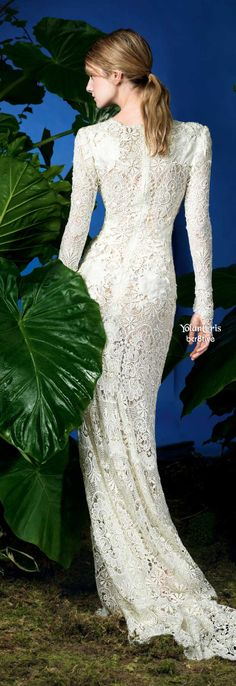 YolanCris Spring 2014 Tell me how much I love this!