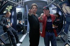 Tom Cruise(Ethan Hunt) & Director Brad Bird on set of Mission:Impossible-Ghost Tom Cruise, Mission Impossible 5, Brad Bird, Ethan Hunt, Ghost Protocol, Joker Heath, Cyberpunk Aesthetic, Simon Pegg, Watch Free Movies Online