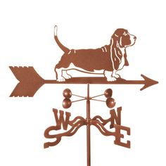 Boost your breed with the EZ Vane Basset Hound Weathervane ! A thoughtful gift for any basset hound lover, this weathervane is crafted of zinc-plated. Blue Merle, Husky, Rain Gauge, Basset Hound Dog, Westie Dog, Beagle Puppies, Hush Puppies, Drawing, Brown And Grey