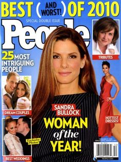 Sandra Bullock is 'People' magazine's Woman of the Year for 2010 People Magazine, Wedding Couples, Wedding Photos, All About Steve, Bar Mitzvah Themes, Miss Congeniality, Hope Floats, Entertainer Of The Year, Practical Magic