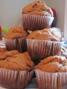 Sweet Potato Banana Muffins - These taste so good and are a great way to sneak in veggies.