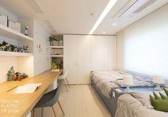 대치미도 67평 아파트 인테리어_[옐로플라스틱, 옐로우플라스틱, yellowplastic] : 네이버 블로그 Corner Desk, Bedroom, Yellow, Furniture, Plastic, Home Decor, Girls, Image, House