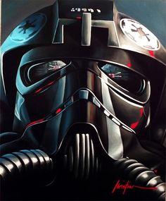 Recent Star Wars-inspired paintings by American artist Christian Waggoner.  More Star Wars via ArtStation
