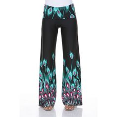 Amp up your wardrobe with popular wide-legged palazzo pants by White Mark. You'll feel comfortable and relaxed, yet well-dressed for any occasion.