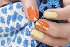 Bright Popping Nails by JINsoon | Sephora Beauty Board #Sephora #nailart