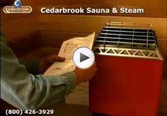 See the website above click the bar for further options healthmate sauna Electric Sauna Heater, Building A Sauna, Outdoor Sauna, Sauna Design, Infrared Sauna, Building Design, Diy Sauna, Sauna Ideas, House Plans