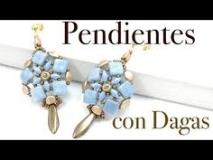 Tutorial Pendientes con Dagas de bohemia - YouTube