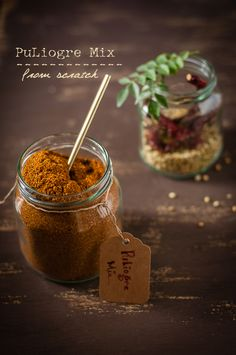 PuLiyogare mix from scratch - The king of South Indian spice mixes @ Just Homema. PuLiyogare mix from scratch - The king of South Indian spice mixes @ Just Homemade