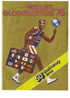 Harlem Globetrotters 50th Anniversary Program (1976)