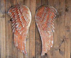 Rustic angel wings