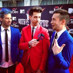 Tyler Joseph | Josh Dun | killing it on the red carpet
